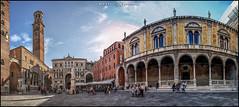 Piazza Dei Signori (MarioVolpi) Tags: arquitectura architecture italia italy panorama pano hdr verona piazza plaza