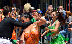 Carnaval Parade SF 151 (TheseusPhoto) Tags: colors colorsoftheworld parade costume carnaval carnavalsf carnaval2018 people candid streetphotography street dance girls women dress culture latino missiondistrict sanfrancisco california