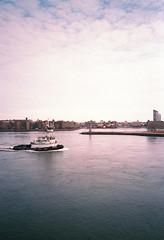 The Delaware (Sean Davis) Tags: newyorkcity boat delaware film nyc river tugboat
