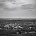 A day in Bottrop: industrial Landscape, view from the slagheap Prosper-Haniel