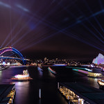 Circular Quay during Vivid thumbnail