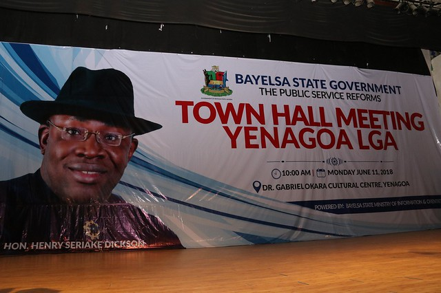 Town Hall Meeting Yenegoa Local Government 11th June 2018