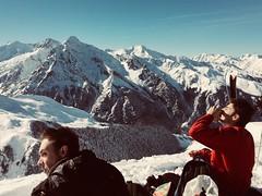 Good time (RMNBZ) Tags: snow neige ciel sky chill pyrénées mountain montagne