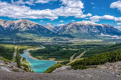 View of Canmore, Alberta (Brenda Gooder Photography) Tags: canmore scenery bow river bowriver