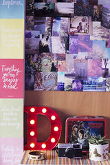 (Girl With Butterfly Wings) Tags: d marqueelight novelty light lamp red rainbow placemat bamboo lunchbox retro strangerthings photos photographs collage filmphotos lomography succulent plantpot camera olympustrip hamsterbowl