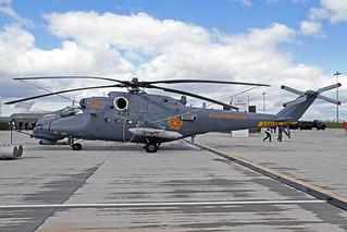 Kazakhstan Air Force Mil Mi-35M 03 Red TSE 23-05-18