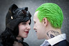 Catwoman and Joker cosplayers at ExCeL London's MCM Comic Con, May 2018s (Gordon.A) Tags: london docklands londondocklands excel excellondon excellondonexhibitioncentre moviecomicmedia mcm con convention comicbookconvention comiccon mcmcomiccon mcmlondon comicconlondon comicconlondonexcel 2018 may2018 mcm2018 creative costume culture lifestyle style catwoman joker cosplay cosplayer cosplayportrait cosplayphotography festival event eventphotography amateur pose posed portrait portraitphotography streetportrait streetphotography colourportrait colourstreetportrait naturallight naturallightportrait canon eos 750d canoneos750d sigma sigma50100mmf18dc