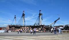 HMS Victory 2nd June 2018 (davids pix) Tags: hms victory flagship royal navy lord horatio nelson preserved portsmouth dockyard shipoftheline wooden warship 2018 02062018
