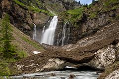 La cascade de Sales (glassonlaurent) Tags: cascade sales sixt fer à cheval 74 haute savoie france paysage water waterfalls landscape