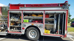 Engine 95 (Central Ohio Emergency Response) Tags: washington township ohio division fire engine 95 sutphen pumper truck equipment compartments