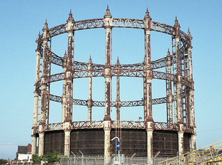 Barack Road Gasometer, Great Yarmouth