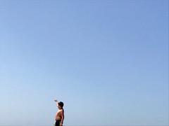 Untitled (marcus.greco) Tags: child sea sky minimal conceptual