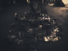 ~ DEATH WORSHIP ~ (S E L E N E L I O N | Visual Art, Eclipsed.) Tags: death worship deathworship cult sect voodoo shrine altar sacrifice ritual skull candles incense wood forest dark gloomy fear horror terror luisdelahiguera trepaneringsritualen rytuał rytuałviii rytuałstrachu industrialart parkszczytnicki wrocław wroclaw wroclove photography visualart selenelionvisualart