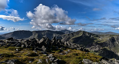 Bit of allright (trojanhorse1956) Tags: snowdonia wales landscape mountains clouds sky rock nikon d750