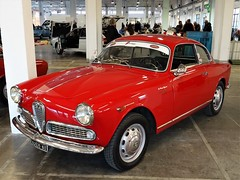 1959 Alfa Romeo Giulietta Sprint (Alessio3373) Tags: auto cars classiccars worldcars alfaromeo giuliettasprint alfaromeogiuliettasprint youngtimers targhenere blackplates