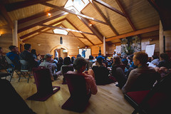 Activate_AMcPhoto_218 (HollyhockLife) Tags: 2018 activate britishcolumbia canada conference cortesisland hollyhock indoor khariwendellmcclelland olatunji