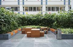 20180525-024 Rotterdam Erasmus MC (SeimenBurum) Tags: rotterdam netherlands erasmus erasmusmc hospital ziekenhuis panorama architecture architectuur garden tuin