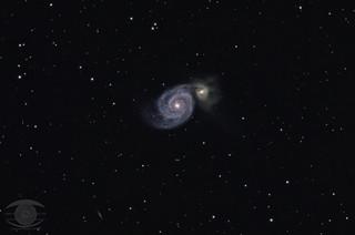 M51 -The Whirlpool Galaxy