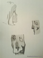(Eugene Flores) Tags: illustration drawing sketch pencil face character
