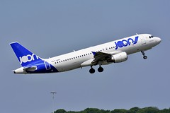 F-HEPC Airbus A320-214 JOON (LIL/LFQQ) (geoffrey.zdcki) Tags: afr af joon departure lilleairport lil lfqq lille airbus a320 spotter france charlesdegaulle spotting nikon