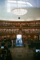 Stockholm Library (smoochka) Tags: lca colour 135 stockholm sweden library lomo