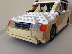 Toyota Highlander front (Decidous) Tags: grille highlander 2005 toyota 2004 legoland scale miniland auto car lego