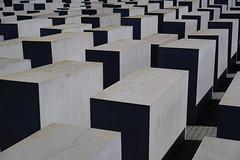 Holocaust Memorial 1 (wesselmeijer) Tags: holocaust memorial monument berlin urban grey gray concrete