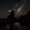 Smoking rock || Bombo (David Marriott - Sydney) Tags: bombo newsouthwales australia au smoking cloud nightscape night astro star reflection milky way long exposure kiama illawarra coast water