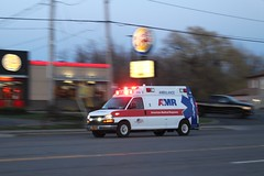 AMR (So Cal Metro) Tags: ambulance paramedic emt ems rescue chevrolet niagarafalls newyork niagara express chevy van amr americanmedicalresponse upstate