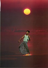 Vacilando con Ayahuasca (hola.milagonzalez@gmail.com) Tags: sunset ayahuasca collage analogue analogo men hombre caribe