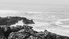 CSC_0434-2 (leonardo.ciamberlini) Tags: lisbona sea lisbon lisboa onda wave onde waves bianco e nero black white bw nikon d3200 kitlens 1855