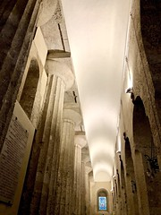 Old and older (kimbar/Thanks for 3.5 million views!) Tags: cathedral duomo siracusa sicily italy doric columns ortigia