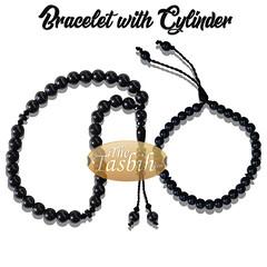 BRACELET WITH CYLINDER (thetasbih.com) Tags: tasbih tasbeh tasbeeh prayer beads rosary prayerbeads sibha misbaha zikir zikr