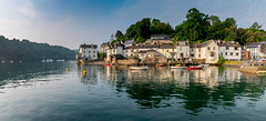 Fowey, Cornwall (Peter Quinn1) Tags: fowey cornwall reflections riverfowey bodinnickferry