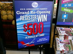 Another day, another Kroger grand reopening! (l_dawg2000) Tags: 2018remodel cordova delicatesen grandreopening grocery grocerystore healthbeauty kroger labelscar marketplace meats memphis pharmacy produce remodel retail scriptdécor shelbycounty starbucks supermarket tennessee tn trinitycommons cordovamemphis unitedstates usa
