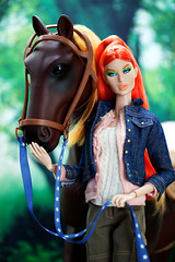 GlamourOz Dolls 'ELIZABET BIZELLE' Prototype - will be at the London Fashion Doll Festival this June 30! (Kim ️) Tags: kimlondon fashiodoll collection glamouroz dolls elizabet bizelle prototype doll will be london fashion festival this june 30 our generation poseable thoroughbred 20 horse