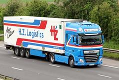 HZ Logistics 1st June 2018 (asdofdsa) Tags: hgv haulage transport truck lorry motorway m18 southyorkshire freight goods