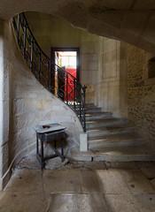 Château Décuve-Statue Manquante (Riconsight) Tags: urbex urbanexploration château assasins creed poney billard voiture urbanphotography abandonné abandonned castle escalier decay