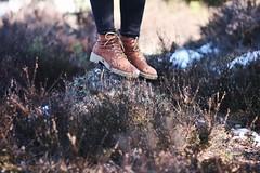 among heather (Faerye.) Tags: heather nature snow boots girl