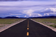 Road Ahead (YY) Tags: road tibet china