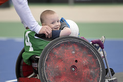 180603-D-DB155-007 (DoD News Photos) Tags: dodwg18 2018dodwarriorgames dodwarriorgames warriorgames woundedwarriors colorado coloradosprings dedication triumph overcomingadversity fortitude sports track field airrifle marksmanship wheelchairbasketball sittingvolleyball powerlifting cycling bicycling archery swimming rowing indoorrowing unitedstates