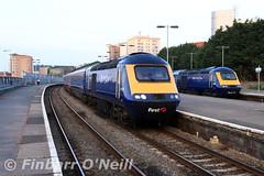 Swansea railway station, Wales (finnyus) Tags: swansearailwaystation swansea hst hst125 43164 43129 1l200559swanseatolondonpaddington 1l20 1l320659swanseatolondonpaddington 1l32