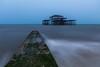 Brighton West Pier (E_W_Photo) Tags: brighton westpier sea groyne longexposure sussex uk canon 80d sigma 1020mm