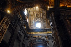 Light through the arches (zawtowers) Tags: rome roma italy italia capital city historic roman empire heritage monday 28 may 2018 summer holiday vacation break warm sunny vatican st peters baslica home pope catholic church arch dome light open airy space