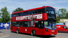Round The Corner (londonbusexplorer) Tags: metroline west volvo b5lh wrightbus gemini 3 222 uxbridge hounslow bus station tfl london buses vwh2177 lk16dfv