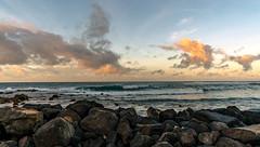 Lava Foreground as Sun Rises on Poipu Beach (Thanks for 1.2 million views) Tags: kauai poipu hawaii sunrise beach