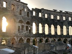 Sunset in Pula