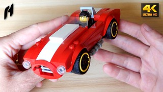How to Build a Lego Shelby-Ford AC Cobra (MOC - 4K)