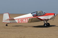 G-BEZZ (QSY on-route) Tags: gbezz lancashire landing 2018 fly in knott end beach airfield 09062018
