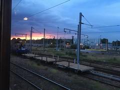 Noisy-le-Sec, Île de France (goforchris) Tags: trains trainjourneys orientexpress venicesimplonorientexpress londonvenice vintage glamour evening sunset